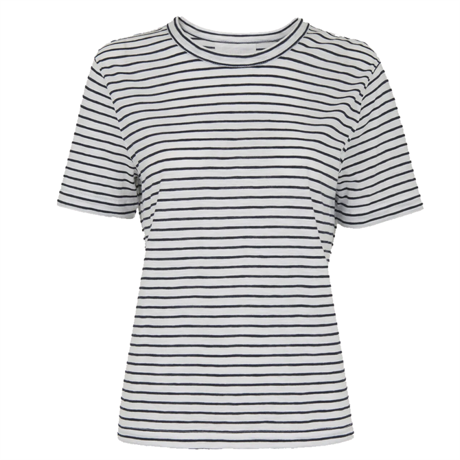 Whistles Sustainable Emily Ultimate Stripe T-Shirt