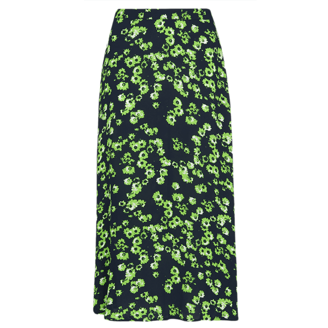 Whistles Digital Daisy Print Skirt