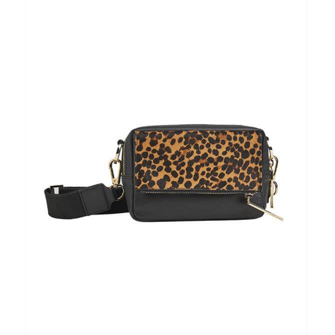 Whistles Bibi Leopard Crossbody Bag