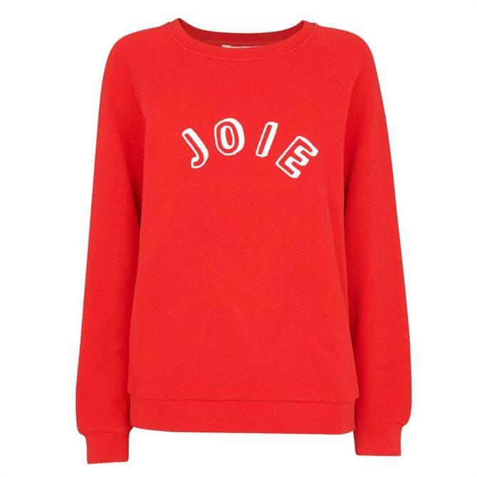 Whistles Joie Logo Red Sweatshirt