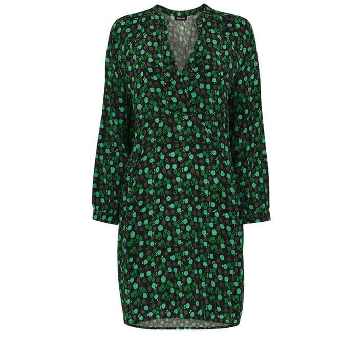 Whistles Winter Ditsy Floral Sack  Sustainable Dress