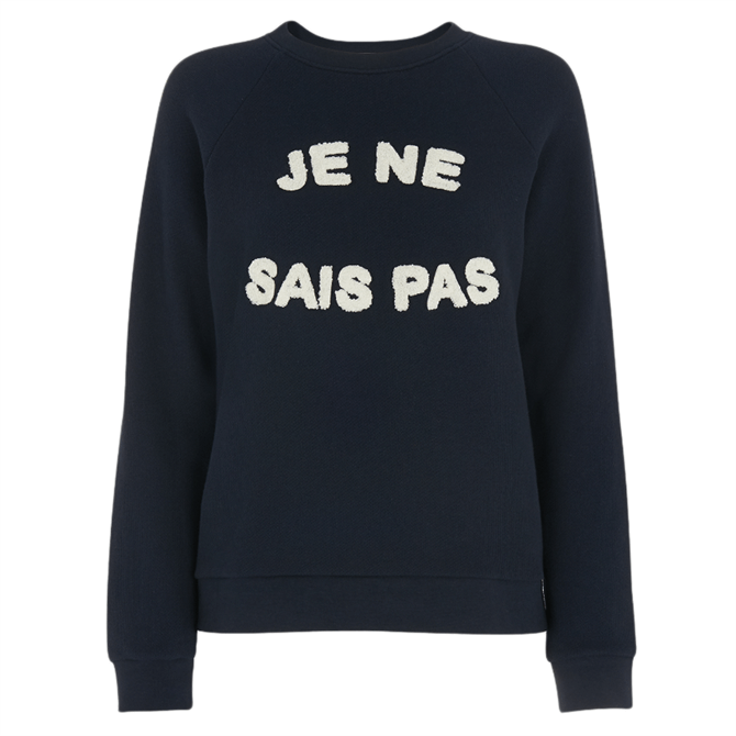 Whistles Je Ne Sais Pas Logo Sweatshirt