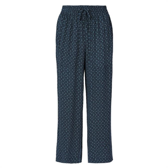 Whistles Lattice Print Tencel Trouser