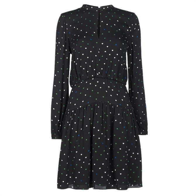 Whistles Millie Star Print Dress