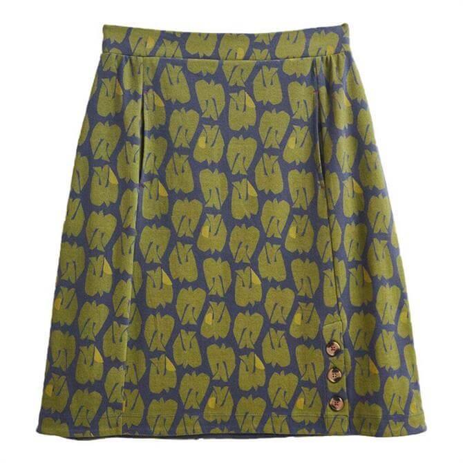 White Stuff Ferna Fairtrade Jersey Skirt