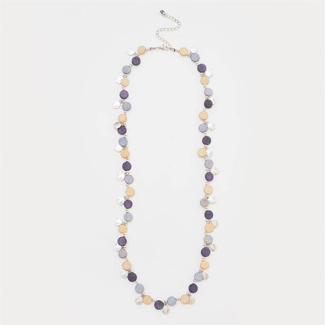 White Stuff Multi Versatile Beaded Short Necklace