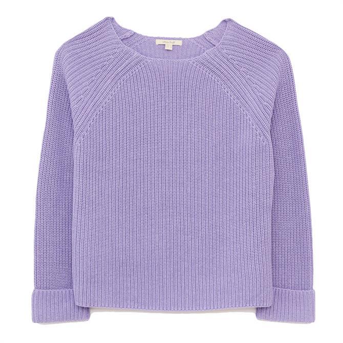 White Stuff Orla Organic Ribbed Sweater