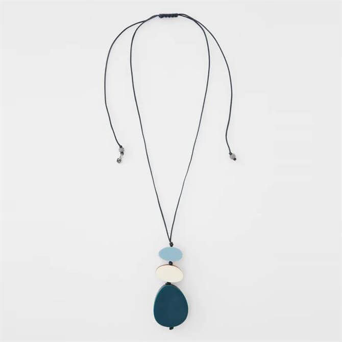 White Stuff Reversible Pendant Necklace