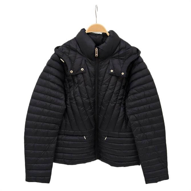 Esprit Quilted Hooded Jacket