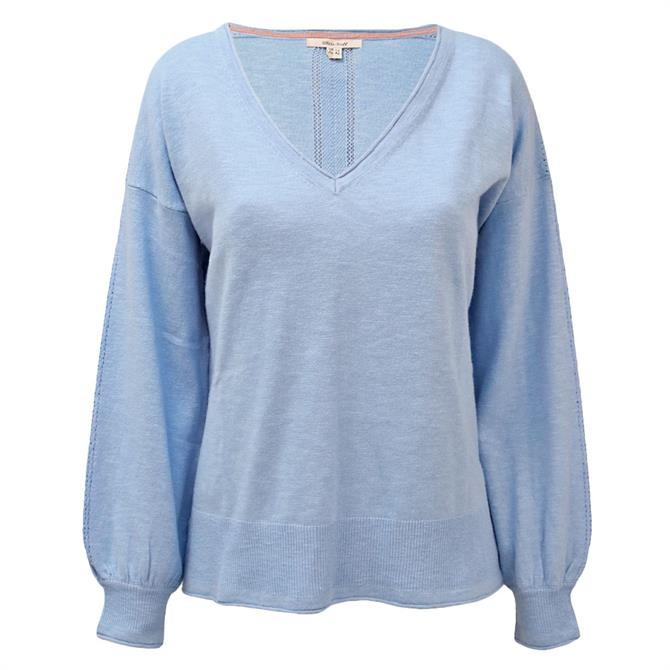 White Stuff Agave V-Neck Sweater