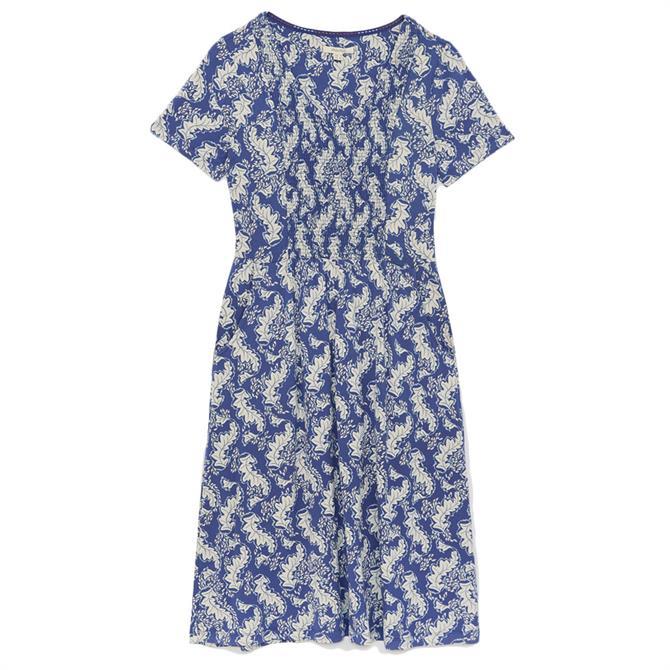 White Stuff Anise Printed Jersey Dress