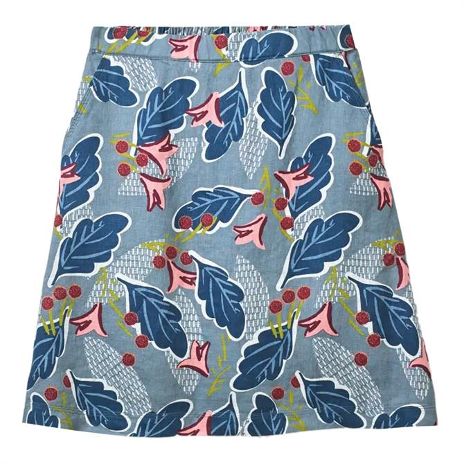 White Stuff Artisan Patterned A-Line Skirt