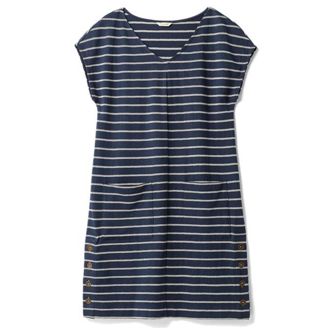 Whitestuff Day To Day Stripe Jersey Dress