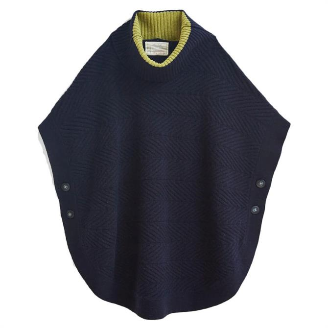 White Stuff Fern Knitted Poncho