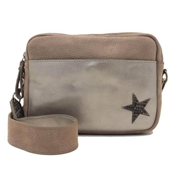 White Stuff Lila Leather Camera Bag