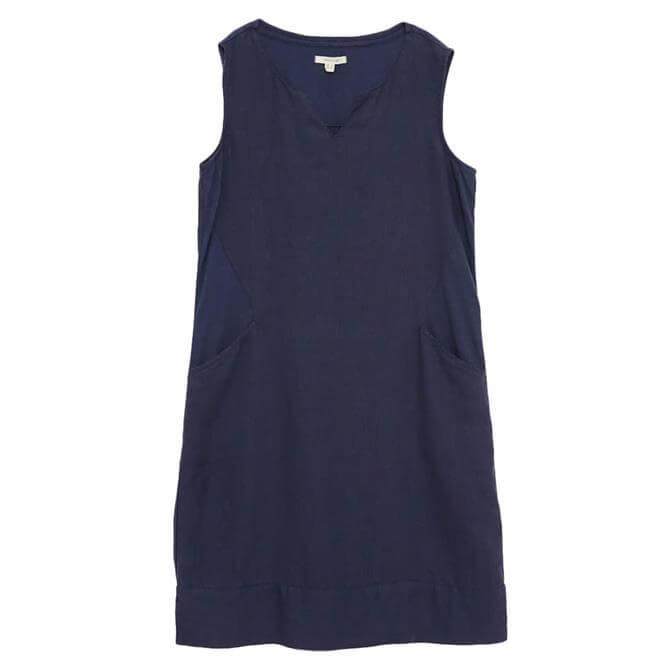 White Stuff Marina Sleeveless Print Linen Dress