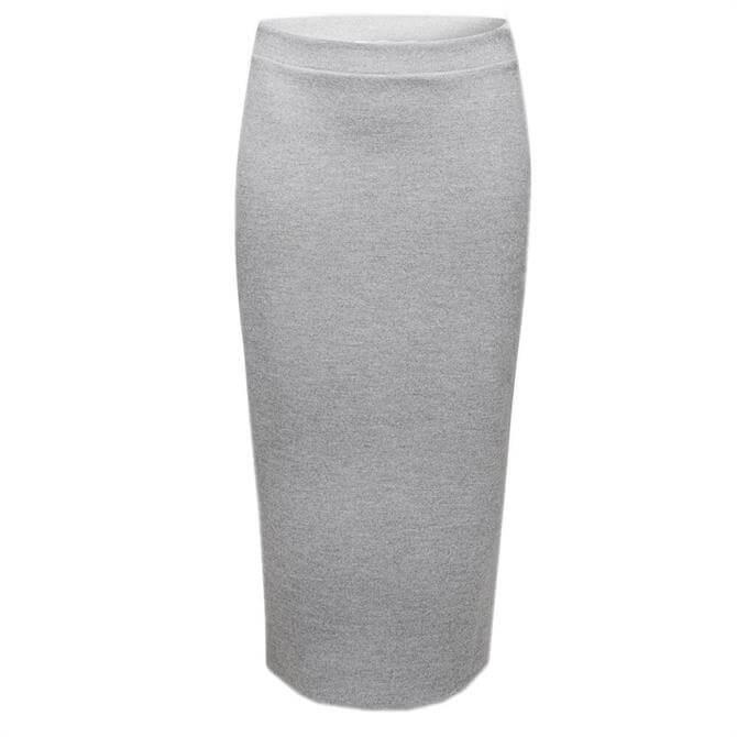Esprit Wool Look Jersey Pencil Skirt
