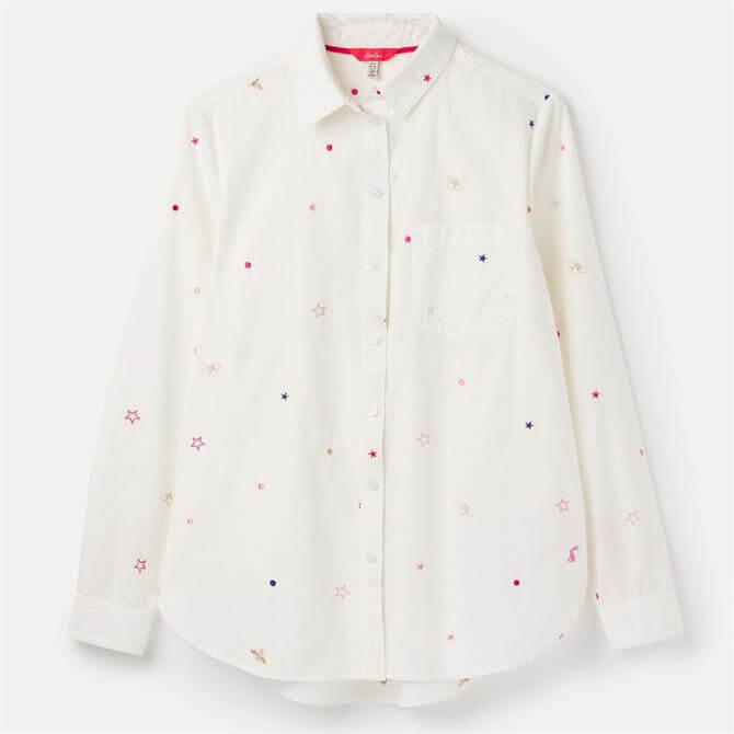 Joules Lorena Luxe Longline Shirt