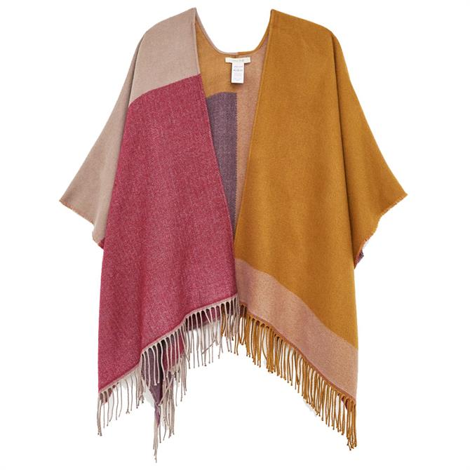 White Stuff Gigi Colourblock Cape