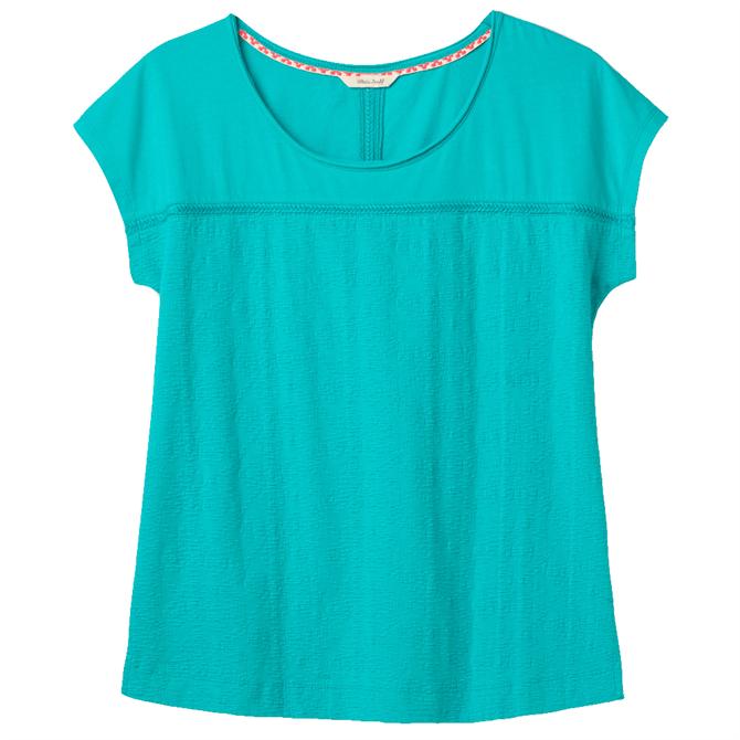 White Stuff Lorna Textured Jersey T-Shirt