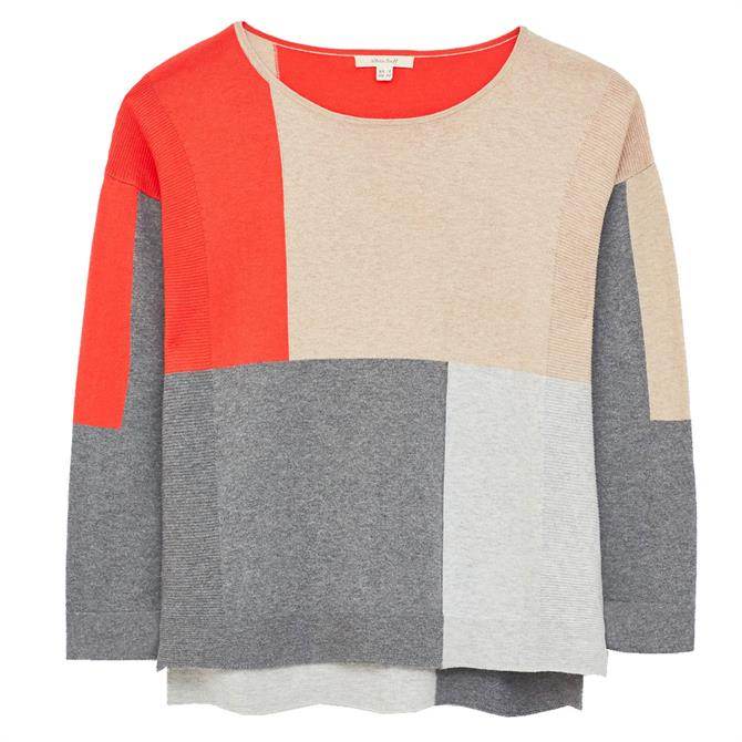 White Stuff Olivia Colourblock Sweater