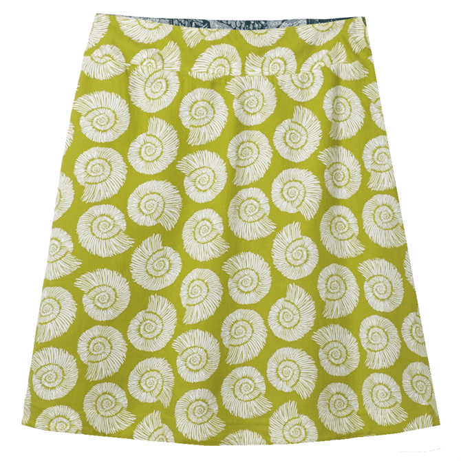 White Stuff Bennath Reversible Print Skirt