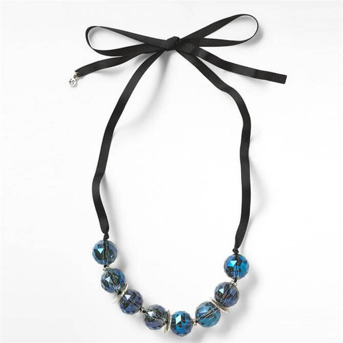 White Stuff Glass Bead Necklace