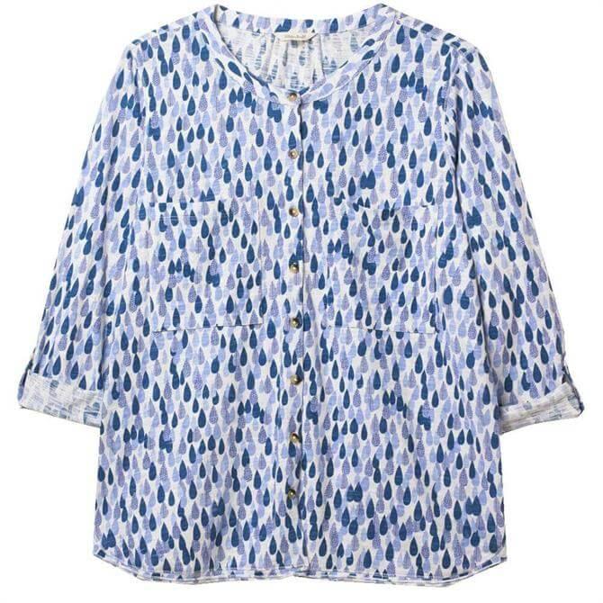 White Stuff Lou Lou Jersey Printed Shirt