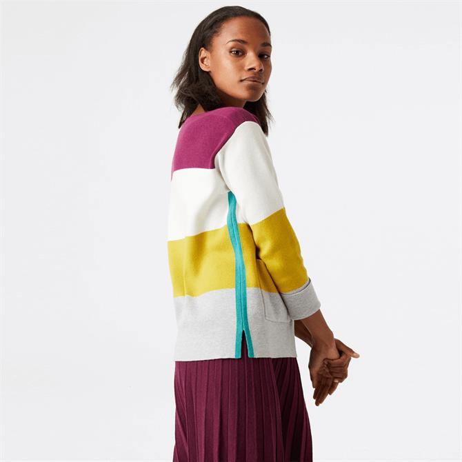 White Stuff Orchard Colour Block Sweater