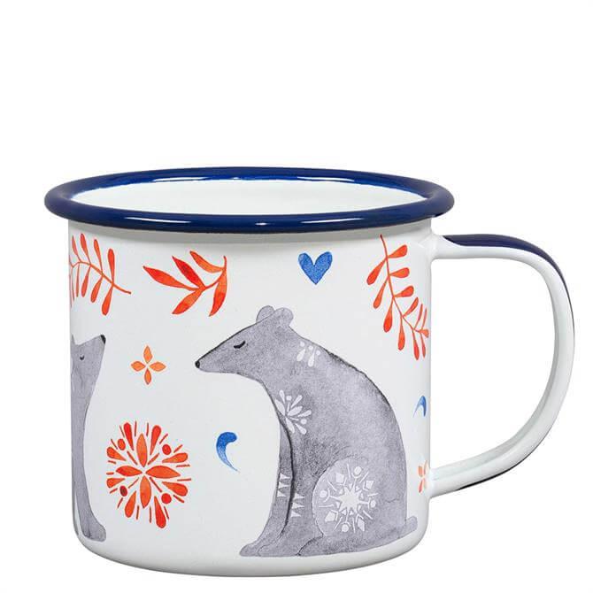 Wild & Wolf Folklore Bear Enamel Mug