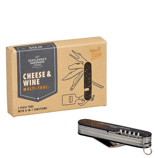 Gentleman's Hardware Cheese & Wine Tool