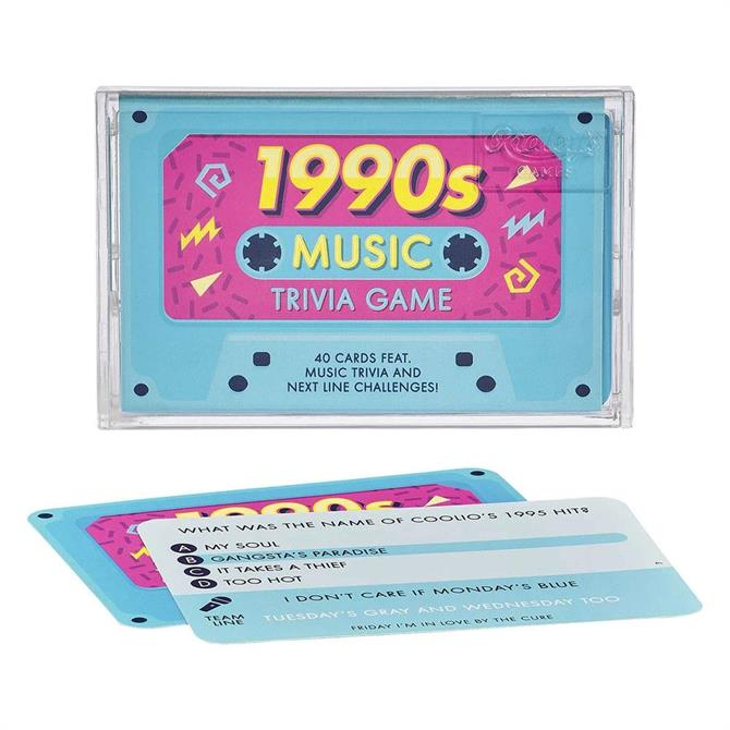 Ridley's Games 1990's Trivia Tape Quiz Game