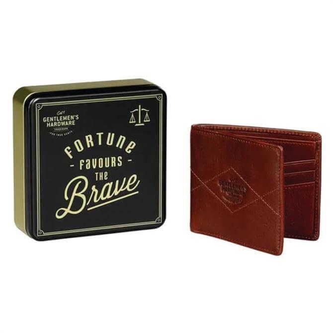 Wild & Wolf Gentlemen's Hardware Bi-Fold Leather Wallet