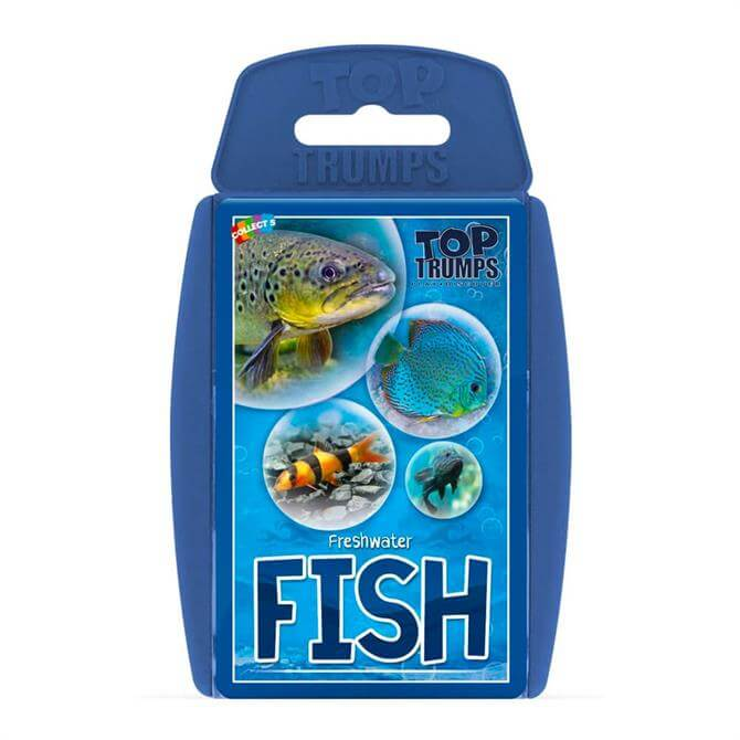 Winning Moves Top Trumps Freshwater Fish