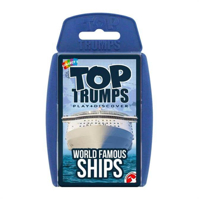 Winning Moves Top Trumps World Famous Ships