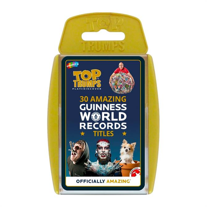 Winning Moves Top Trumps Guinness World Records