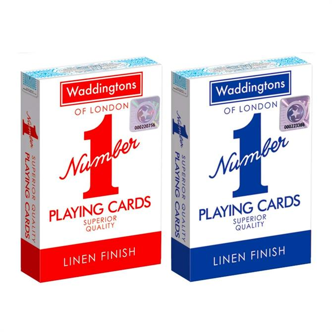 Winning Moves Waddingtons No1 Playing Cards Twin Pack