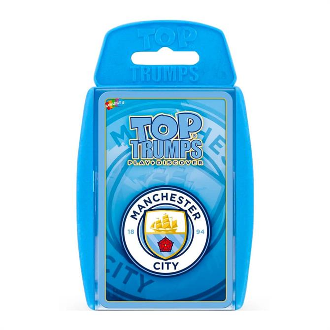 Winning Moves Top Trumps Manchester City FC