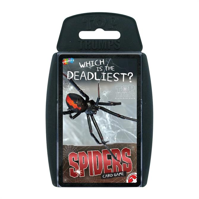 Winning Moves Spiders Top Trumps