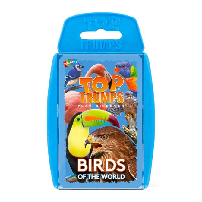 Winning Moves Top Trumps Birds of the World
