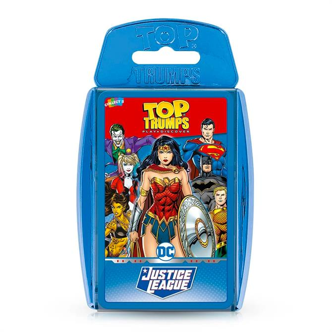 Winning Moves Top Trumps DC Justice League