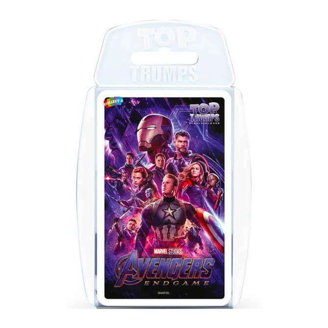 Winning Moves Top Trumps Marvel Avengers End Game