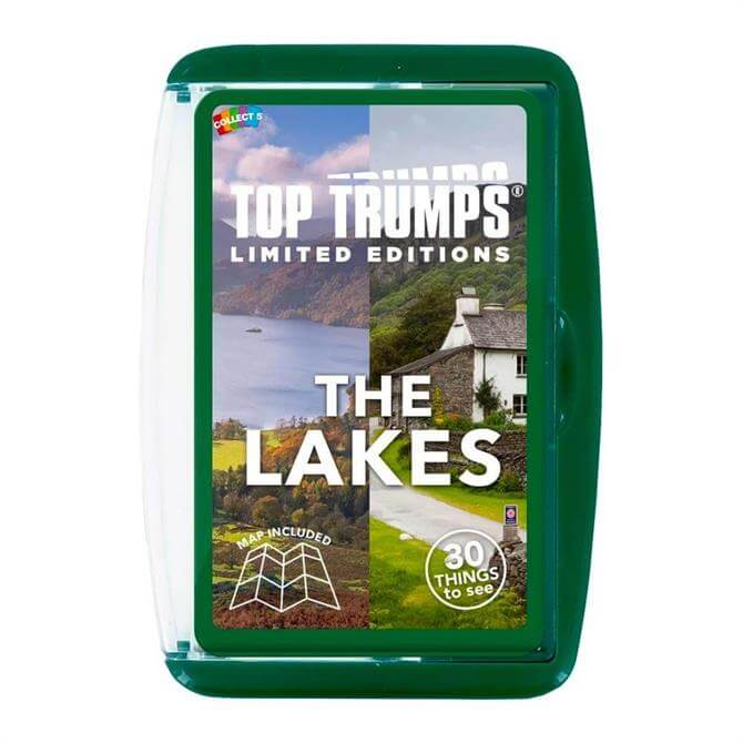 Winning Moves Top Trumps The Lakes