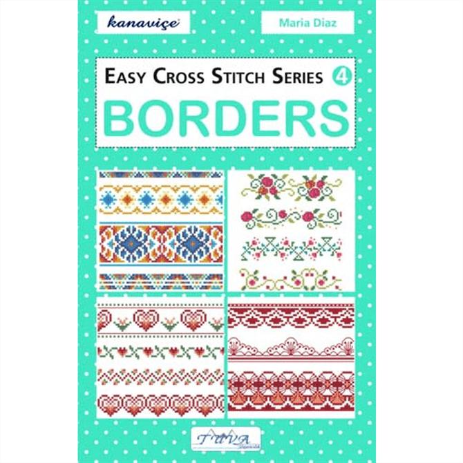 DMC Easy Cross Stitch Borders Chart Book