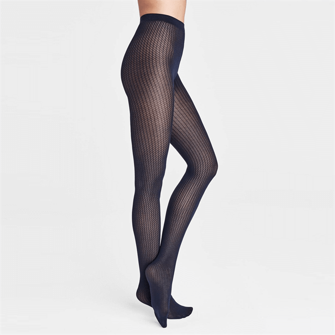 Wolford Sasha Knitted Patterned Tights