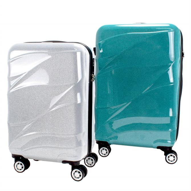 Woodbridge Highbury Stardust Hard Glitter Suitcase