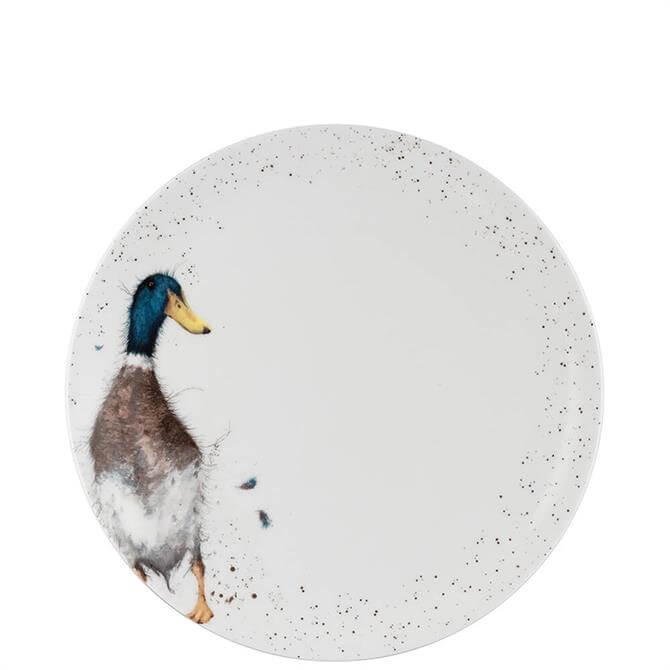Royal Worcester Wrendale Duck Coupe Dinner Plate