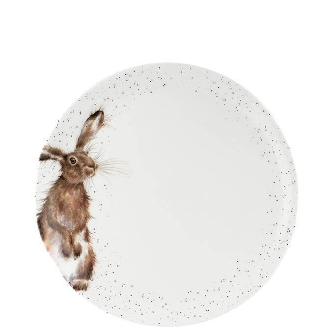 Royal Worcester Wrendale Hare Coupe Dinner Plate
