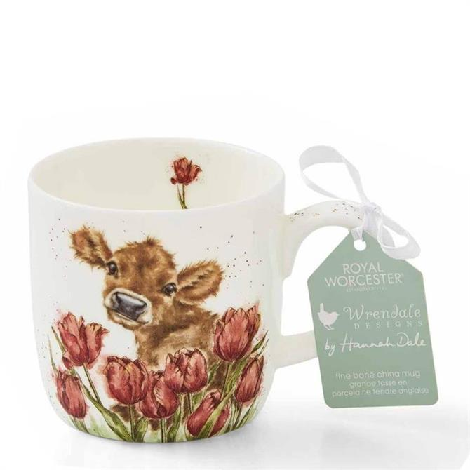 Royal Worchester Wrendale Bessie the Cow Mug