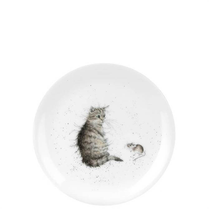 Royal Worcester Wrendale Cat & Mouse Coupe Plate 20cm
